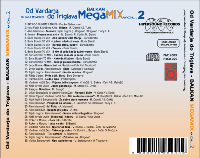 Balkan megamix vol.2 - Hipersound Records