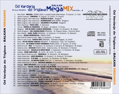 Balkan megamix vol.1 - Hipersound Records