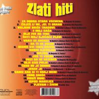 Novi Fosili & Vladimir Kočiš Zec - Zlati Hiti Track Lista - Hipersound records